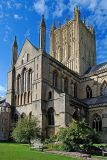 Cathedral tower, Wells Cathedral