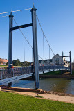 Blue bridge over the Exe, Exeter