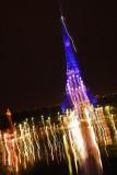 La tour Effel Bleu