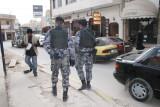 Madaba en Jordanie - L'armée est toujours présente.