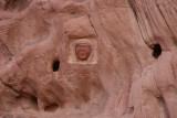 Dans le Wadi, Rum, un petit hommage à Lawrence d'Arabie