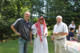 L'Emir et ses deux gardes du corps