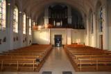 Intérieur de l'Eglise St Michel de Wisches