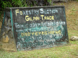 Entrance to Gilpin Trace