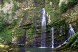 Cascades and landscapes of Jura and Doubs, France