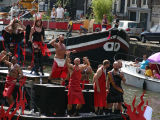 Canal Parade in Amsterdam during Gay Pride, August 5, 2006