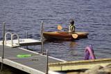 Gray kayaking