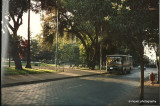 early morning in Santiago, Chile in 1992