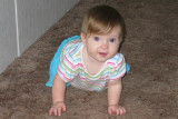 August 2009, she is 9 months old!