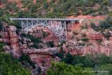 BRIDGE OVER OAK CREEK CANYON