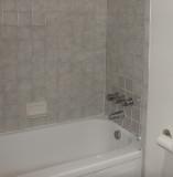 Old bath, tile