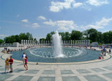 Sunday afternoon at the WWII Memorial