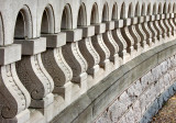 Wall detail, US Capitol grounds