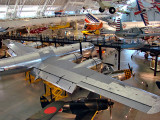 Udvar-Hazy Center, general display, Enola Gay foreground