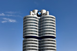 Presiding over it all: BMW headquarters