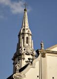 Unusual steeple