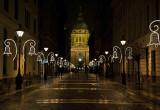 St. Stephen's Basilica on Christmas