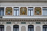 Baranya County Hall, beehive detail