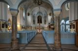 Blue Church interior view