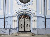 Blue Church, side door
