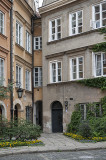 Narrowest house in Warsaw and Europe