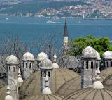 Bosporus view from Süleymaniye