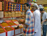 In the spice souq