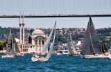 Sailboat races from the Çiragan