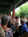 Beijing People's Park - Men's band