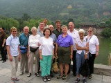 Xian- Huaqing Hot Springs - Our intrepid group (minus 1)