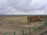 Enroute to Turpan - crumbling ancient wall
