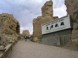 Ancient Jiaohe city ruins (108 BC - 450 AD)