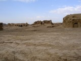 Jiaohe ruins well-preserved due to dry climate