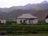 Kyrgyzstan - Sary Tash - typical winter housing for nomads