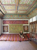 Kokand Palace - vividly decorated room