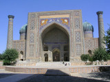 Samarkand - One side of Registan complex
