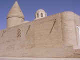 Bukhara - the Ark Fortress, dating to the 4th Century BC