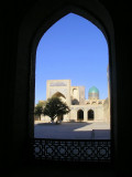 Bukhara - another view of medrassa courtyard