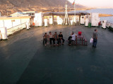 Port of Turkmenbashi - aboard the freighter, early evening