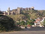 Tbilisi, Georgia - view of Narikala Fortress