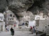 Near Trabzon, Turkey - Sumela Monastery - interior buildings