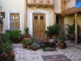 The courtyard of my first apartment on Carmen Bajo
