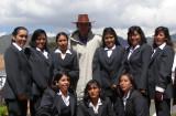 Me, El Chango Bendito con mis chicas