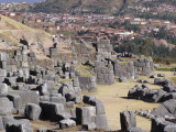 Saqsaywaman, the old and the new