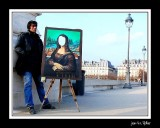 Who stole the smile of Mona Lisa?...