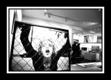 Prisoner of frame.