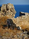 Building face at ruins