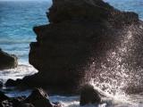 Rock profile and sea
