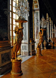 Hall of Mirrors Statues