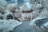 Moon Gate Path Infrared HDR